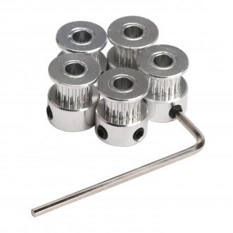 Набор алюминиевых шкивов для RepRap 3D принтера Prusa i3
