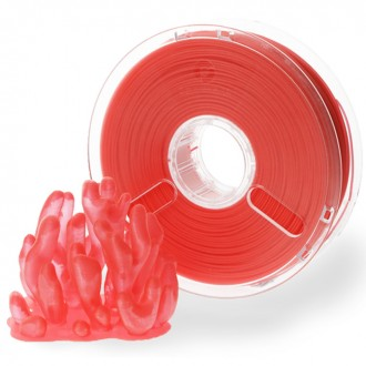 PolyMaker PolyPlus™ PLA Red Translucent