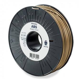 Коричневый ABS пластик Ultimaker Pearl Gold