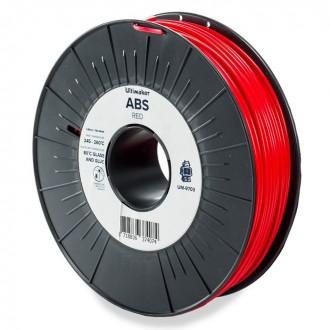 Красный ABS пластик Ultimaker Red