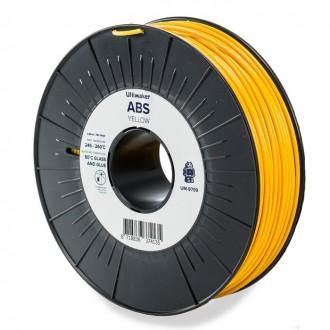 Желтый ABS пластик Ultimaker Yellow