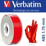 PLA пластик VERBATIM Красный