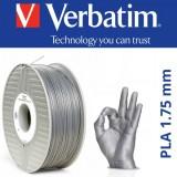 PLA пластик VERBATIM Серебристый