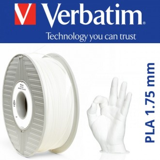 Белый PLA Verbatim