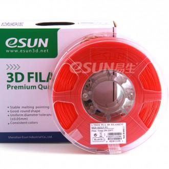 PLA пластик ESUN для 3D принтера | Красный цвет