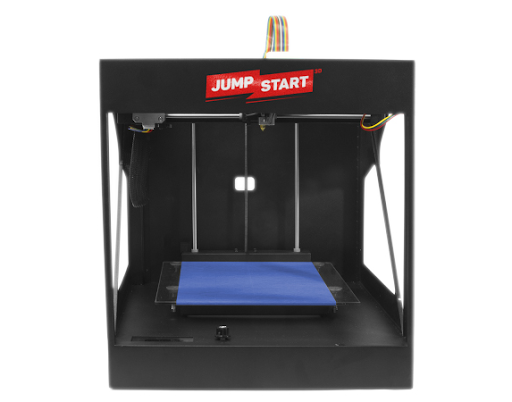 Использование синей ленты на рабочем столе 3D принтера Ju,pStart