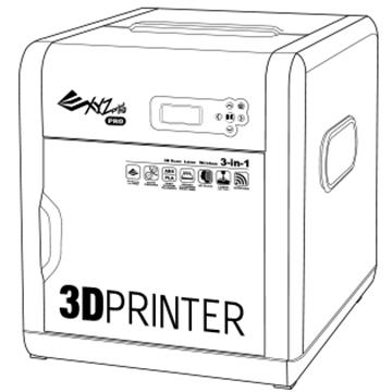 3D сканер / 3D гравер и принтер XYZ Printing