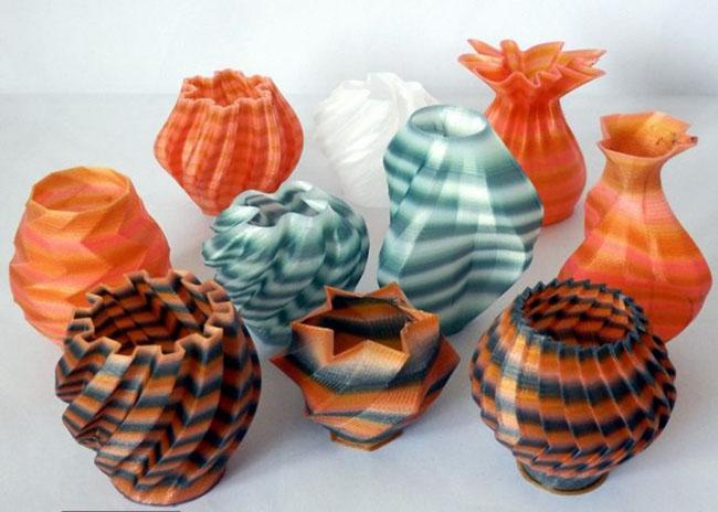 Окраска вазы Taulman Nylon 618