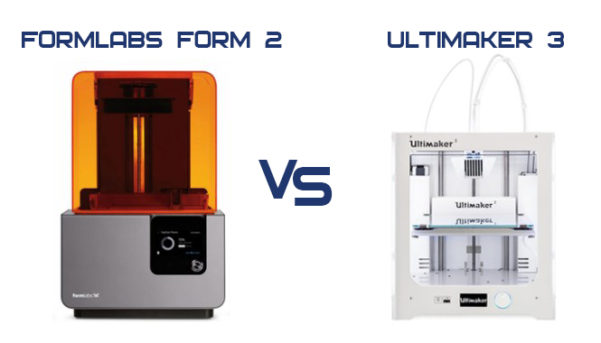 Ultimaker 3 против FormLabs Form 2