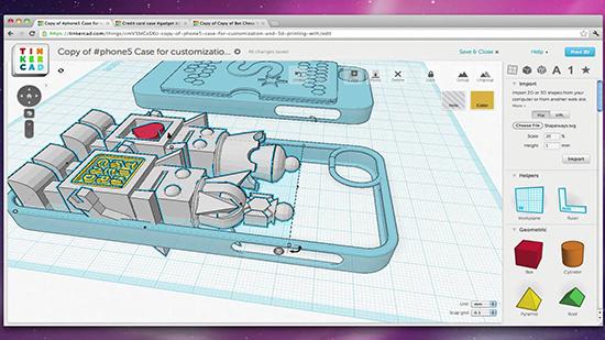 Пример работы Print3d