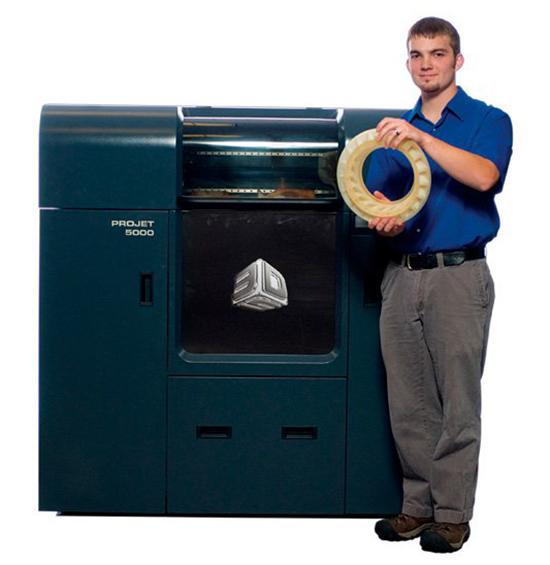 3D принтер ProJet 5000