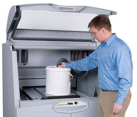 Технология печати на 3D принтер ProJet 860Pro