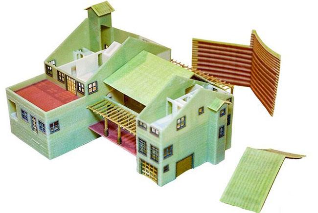 Пример напечатанного изделия на 3D принтере ProJet 260PLUS