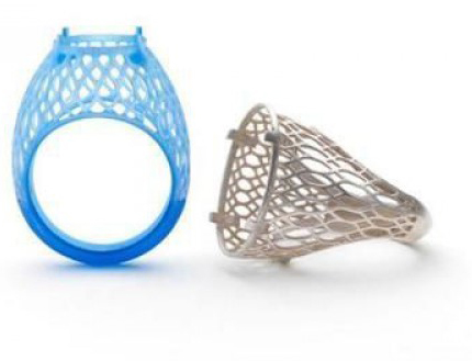 Ювелирное кольцо на ProJet 3510 CPX