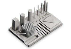 Пример печати на 3D принтере по металлу ProX 100