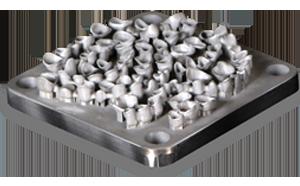 Пример печати на стоматологическом 3D принтере по металлу ProX 100 Dental