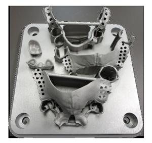 Образец печати на 3D принтере ProX 100 Dental