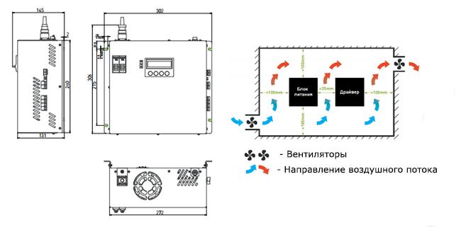 PLPS1070-G2 схема подключения