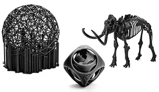 Пример печати FormLabs Black Resin