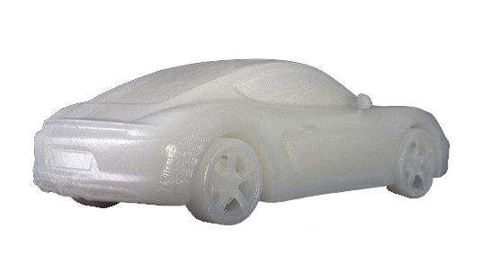 Пример печати FormLabs White Resine