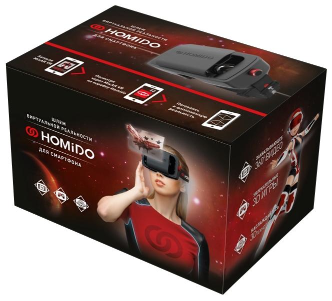 Упаковка Homido V1