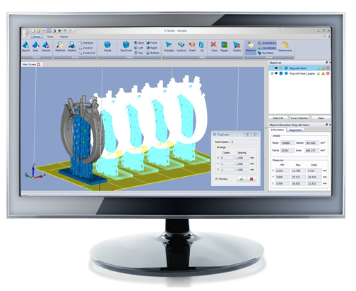 Программное обеспечение для 3D принтера K-Studio
