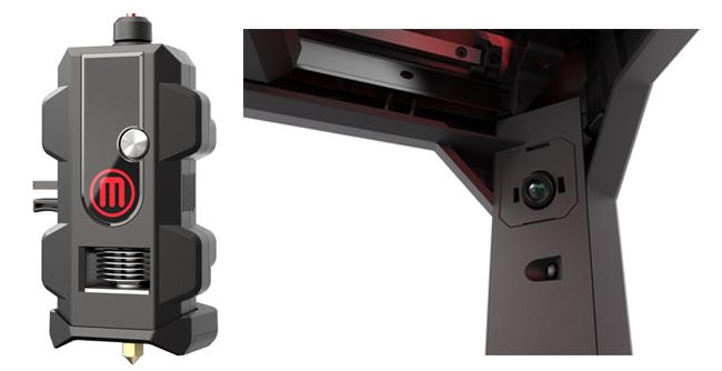 Smart Extruder и встроенная камера