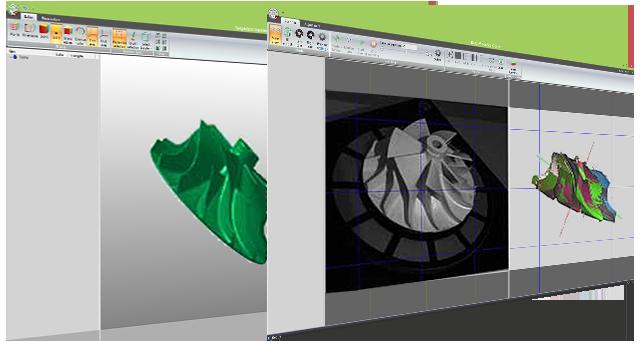 Программное обеспечение для 3D сканера RangeVision Pro2M