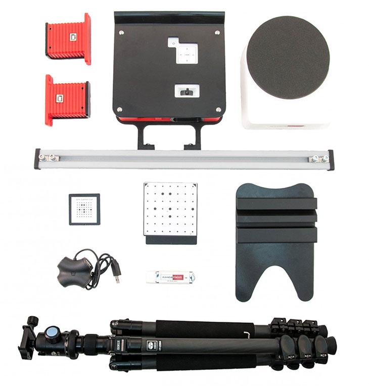 Комплектация 3D сканера RangeVision Spectrum