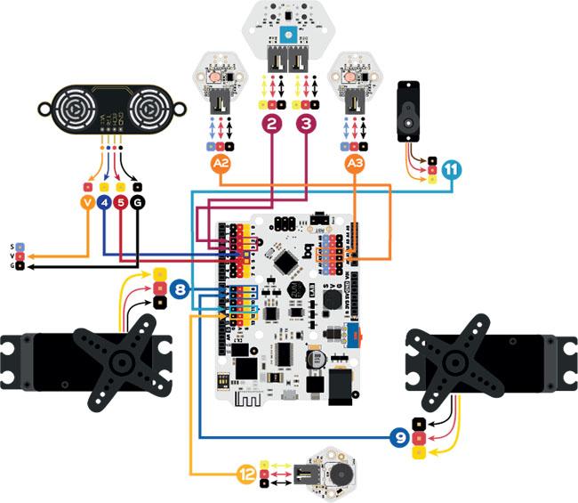 Схема подключения PrintBot