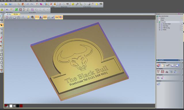 ArtCam Express программа для создание моделей для ЧПУ