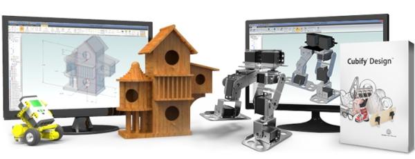Cubify Design - программа для 3D принтера, позволяющая моделировать сложные, функциональные объекты.