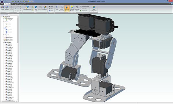 Пример 3D модели, созданной в программе Cubify Design