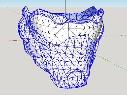3D модель маски Солдат 76 для косплея