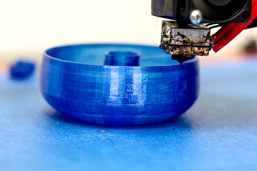 Синяя лента для 3D принтера купить, малярный скотч