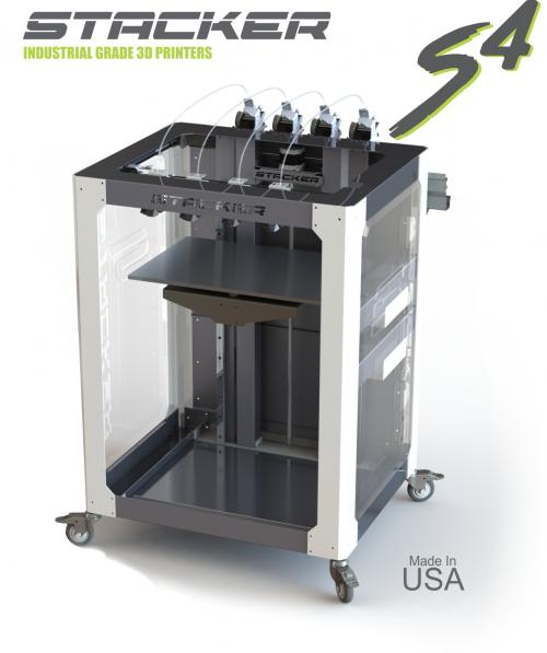 Промышленный 3D принтер Stacker S4