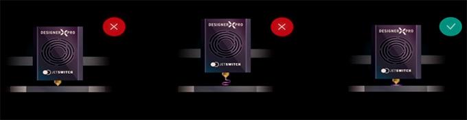 Контроль первого слоя Desinger X PRO